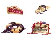 Zoet dessert Stock Foto's
