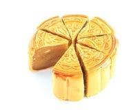 Zoet dessert Durian Monthong Mooncake Royalty-vrije Stock Fotografie