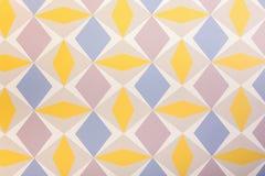 Zoet en kleurrijk behangpatroon Royalty-vrije Stock Foto's