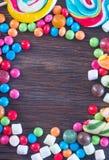 Zoet kleurensuikergoed Stock Foto