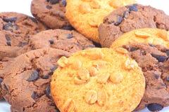 Zoet koekje stock afbeeldingen