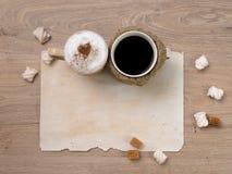 Zoet koffiepaar Stock Afbeeldingen
