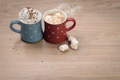 Zoet koffiepaar Stock Foto