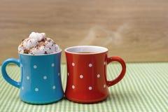 Zoet koffiepaar Royalty-vrije Stock Afbeeldingen
