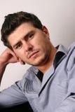 Zoet Mannelijk Model Stock Foto's