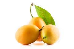 Zoet Marian pruim Thais fruit stock afbeeldingen