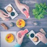 Zoet menu Stock Foto's