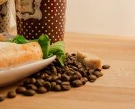 Zoet ontbijt Stock Foto's