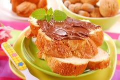 Zoet ontbijt voor kind Stock Fotografie