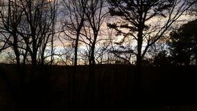 Zoet Ozark Sunset stock afbeeldingen