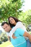 Zoet paar in liefde Stock Fotografie