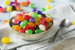 Zoet Paasei Gevormde Jelly Candies Stock Foto