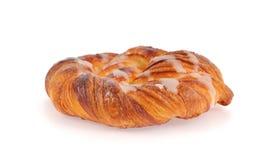Zoet spiraalvormig broodje Stock Foto