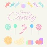 Zoet suikergoed stock foto's