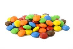 Zoet suikergoed op wit stock foto
