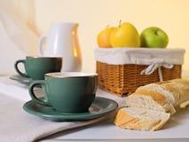 Zoet Voedzaam ontbijt Royalty-vrije Stock Foto's