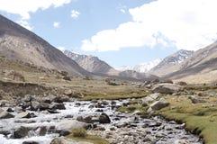 zoet waterbeek in nubravallei Royalty-vrije Stock Afbeelding