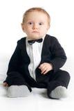 Zoete baby in rok Royalty-vrije Stock Afbeelding
