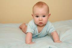 Zoete babyjongen Royalty-vrije Stock Foto