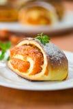 Zoete broodjes met abrikozen Stock Afbeelding