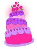 Zoete cake Stock Foto's