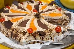 Zoete cake Royalty-vrije Stock Fotografie
