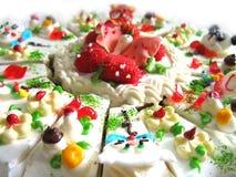 Zoete cake Royalty-vrije Stock Foto's