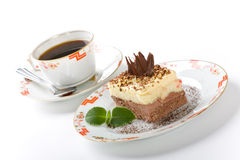 Zoete cake Stock Afbeelding