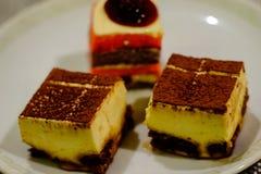 Zoete cakes royalty-vrije stock fotografie