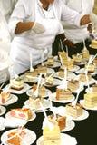 Zoete cakes Stock Afbeeldingen