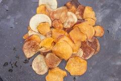 Zoete chips Stock Foto