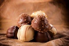 Zoete chocolade Stock Afbeelding