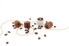Zoete chocolade Stock Foto