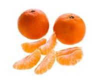 Zoete clementines Stock Foto