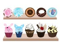 Zoete Cupcake 2 Royalty-vrije Stock Foto's