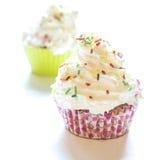 Zoete cupcakes Stock Foto