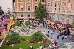 Zoete Dagen - Chocolade en Suikergoedfestival in Boedapest, Hongarije Stock Foto