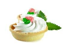 Zoete dessertcakes Royalty-vrije Stock Afbeeldingen