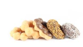 Zoete Doughnut Royalty-vrije Stock Afbeeldingen