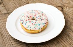 Zoete Doughnut Stock Foto