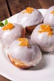Zoete doughnuts Stock Foto's