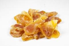 Zoete droge mandarijnen Stock Foto's