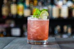 Zoete en Zure Cocktail Royalty-vrije Stock Afbeeldingen