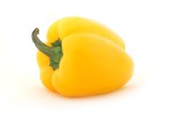 Zoete geïsoleerdeo groene paprika, royalty-vrije stock fotografie