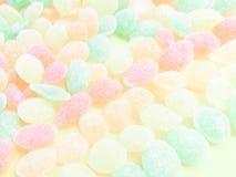 Zoete gekleurde lollys Royalty-vrije Stock Foto