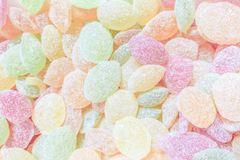 Zoete gekleurde lollys Stock Afbeelding