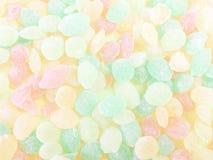 Zoete gekleurde lollys Stock Foto