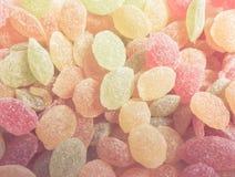 Zoete gekleurde lollys Royalty-vrije Stock Afbeelding
