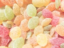 Zoete gekleurde lollys Stock Fotografie