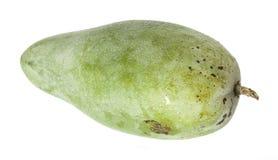 Zoete groene die mango op witte achtergrond wordt geïsoleerd, Royalty-vrije Stock Afbeeldingen